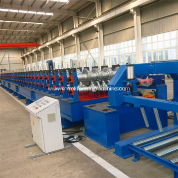 Steel deck floor profile roll forming machine